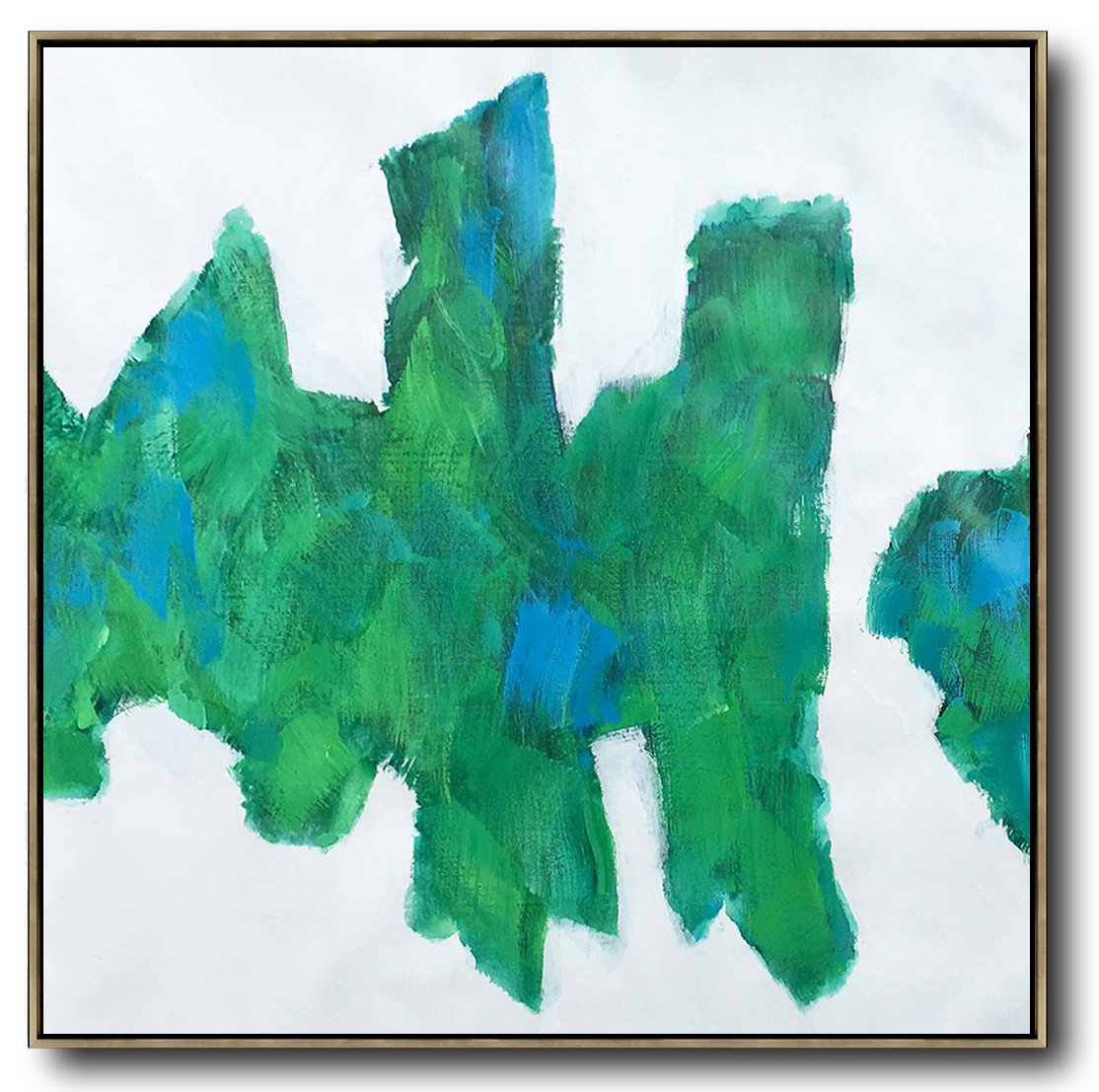 Large Abstract Art,Oversized Contemporary Art,Oversized Art,White,Blue,Green.etc