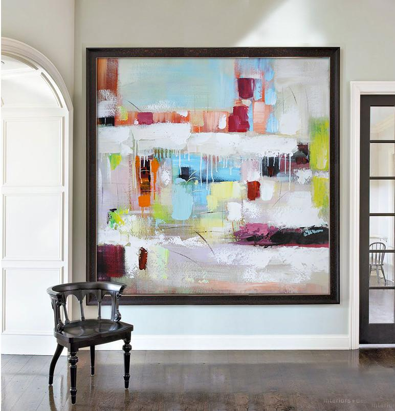 Abstract Painting Extra Large Canvas Art,Oversized ...