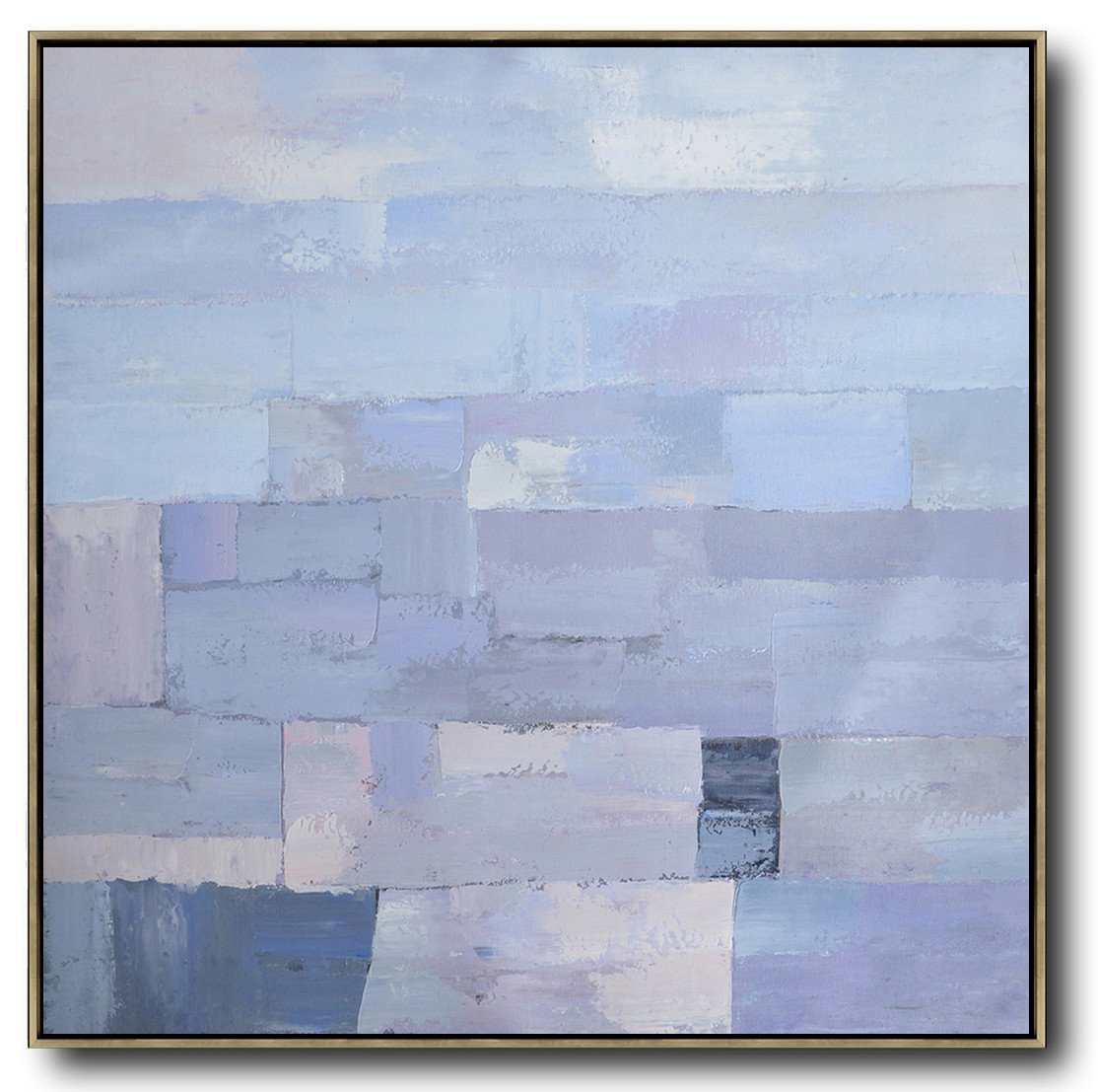 Extra Large Canvas Art,Oversized Contemporary Art,Xl Large Canvas Art,Violet Ash,Grey,Blue.etc