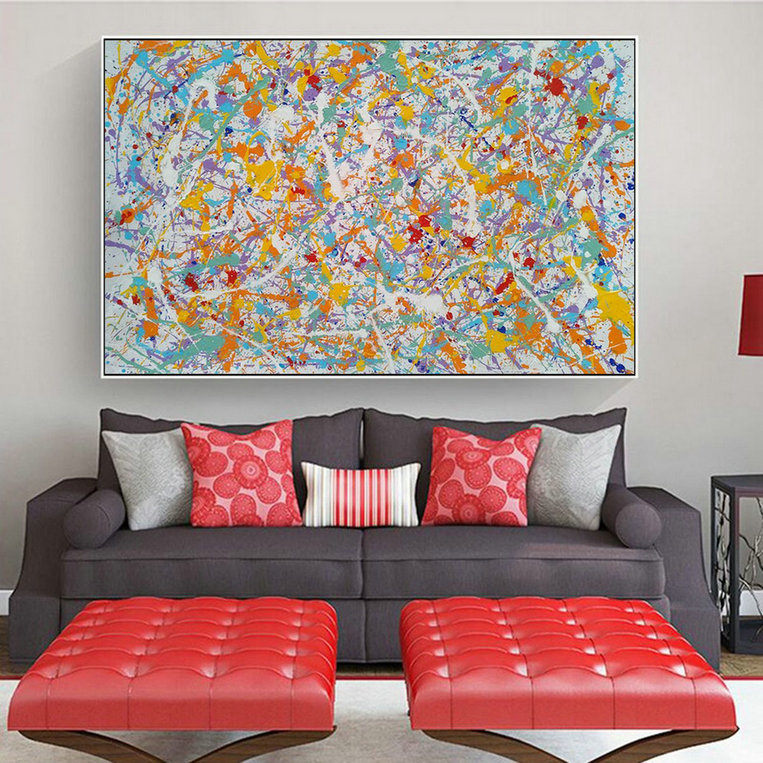 contemporary painting, abstract acrylic paintingL602