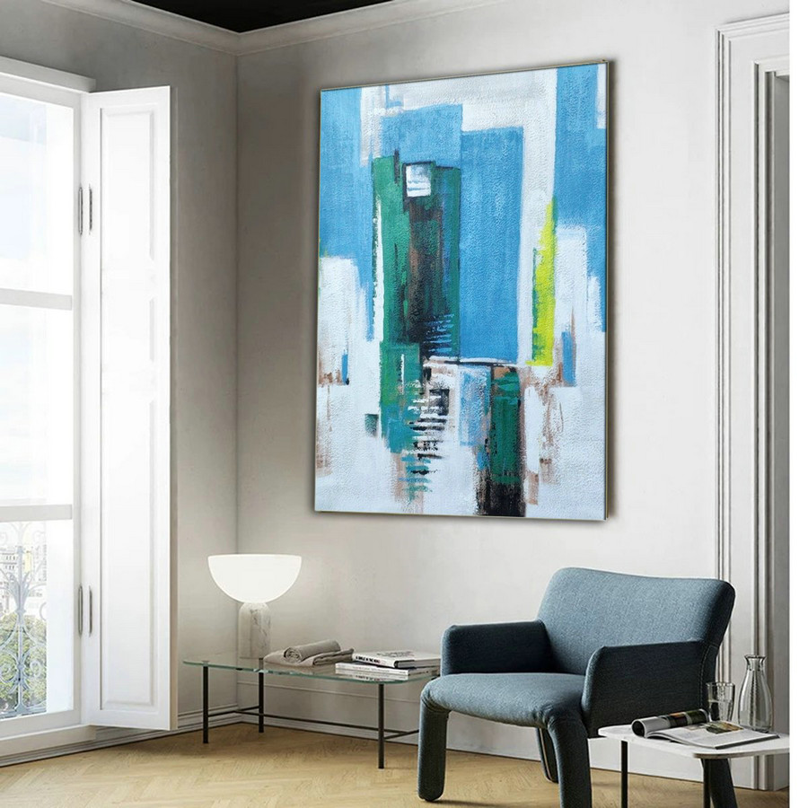 Original art painting,Abstract modern art paintings LA172