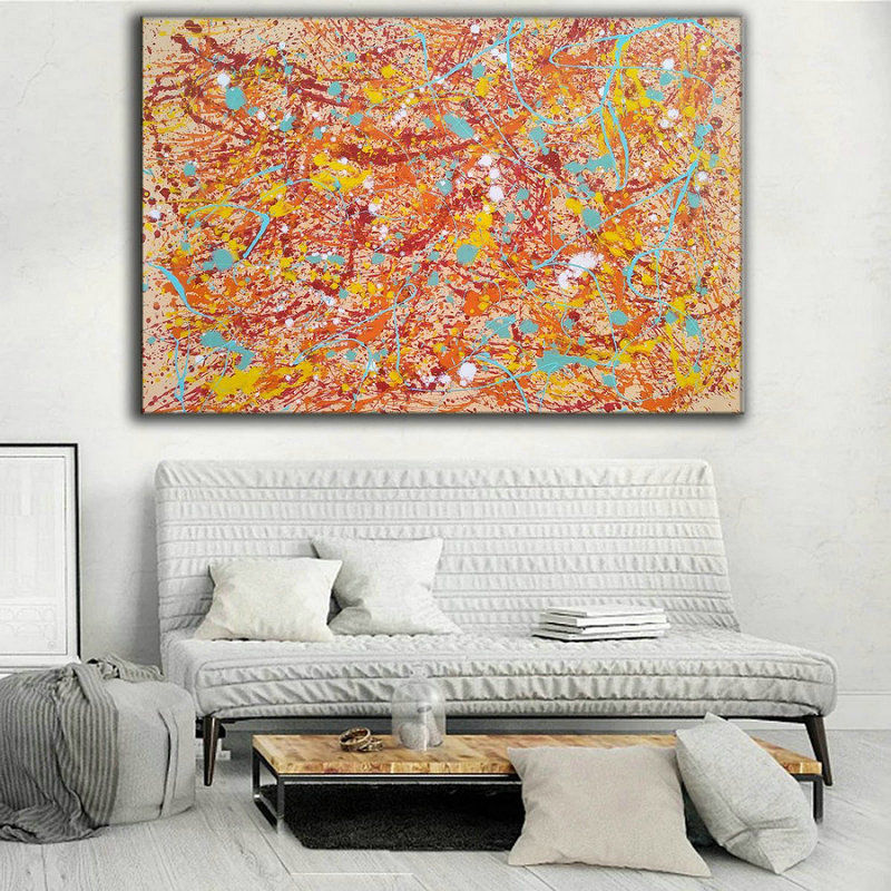 Original abstract painting,contemporary painting L874