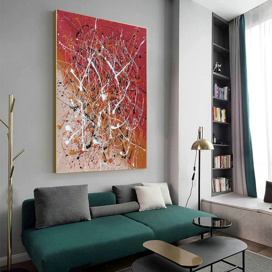 Contemporary abstract painting,Abstract painting images LA124