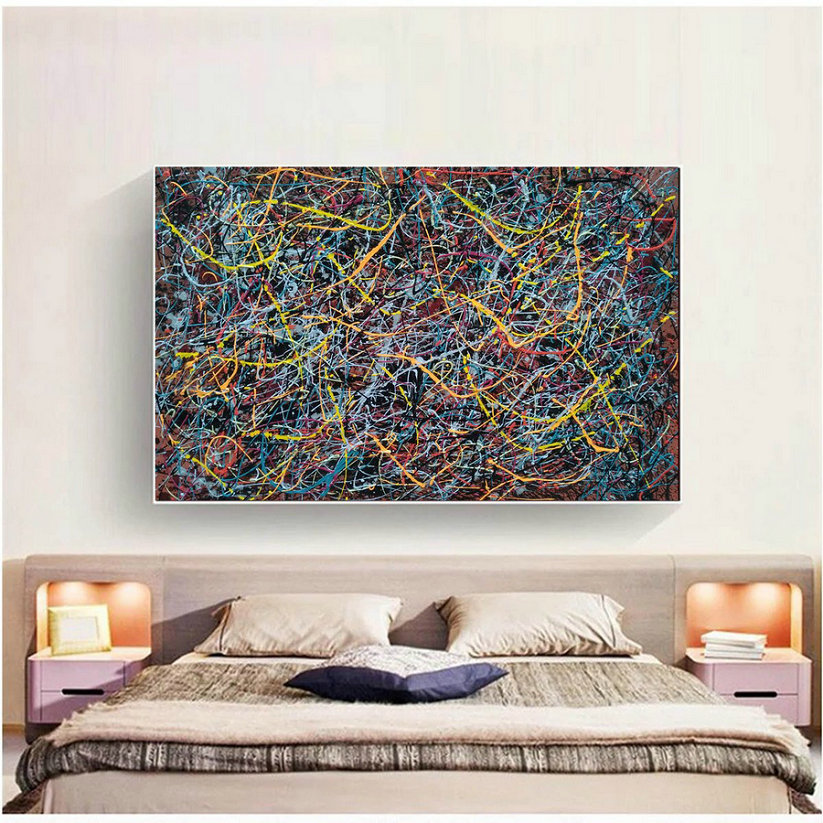 abstract wall painting| modern abstract art for sale L912