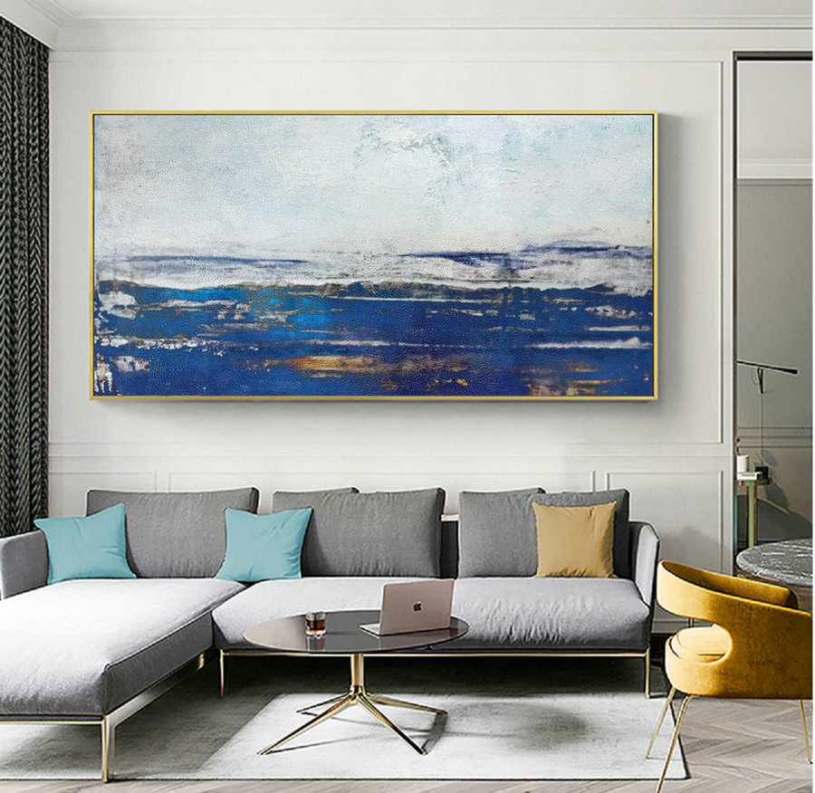 Large Abstract Sky Oil Painting,Large Abstract Art,Abstract Painting On Canvas,Original Abstract Art Painting,Large Wall Canvas Oil Painting,Custom Canvas Art - Click Image to Close