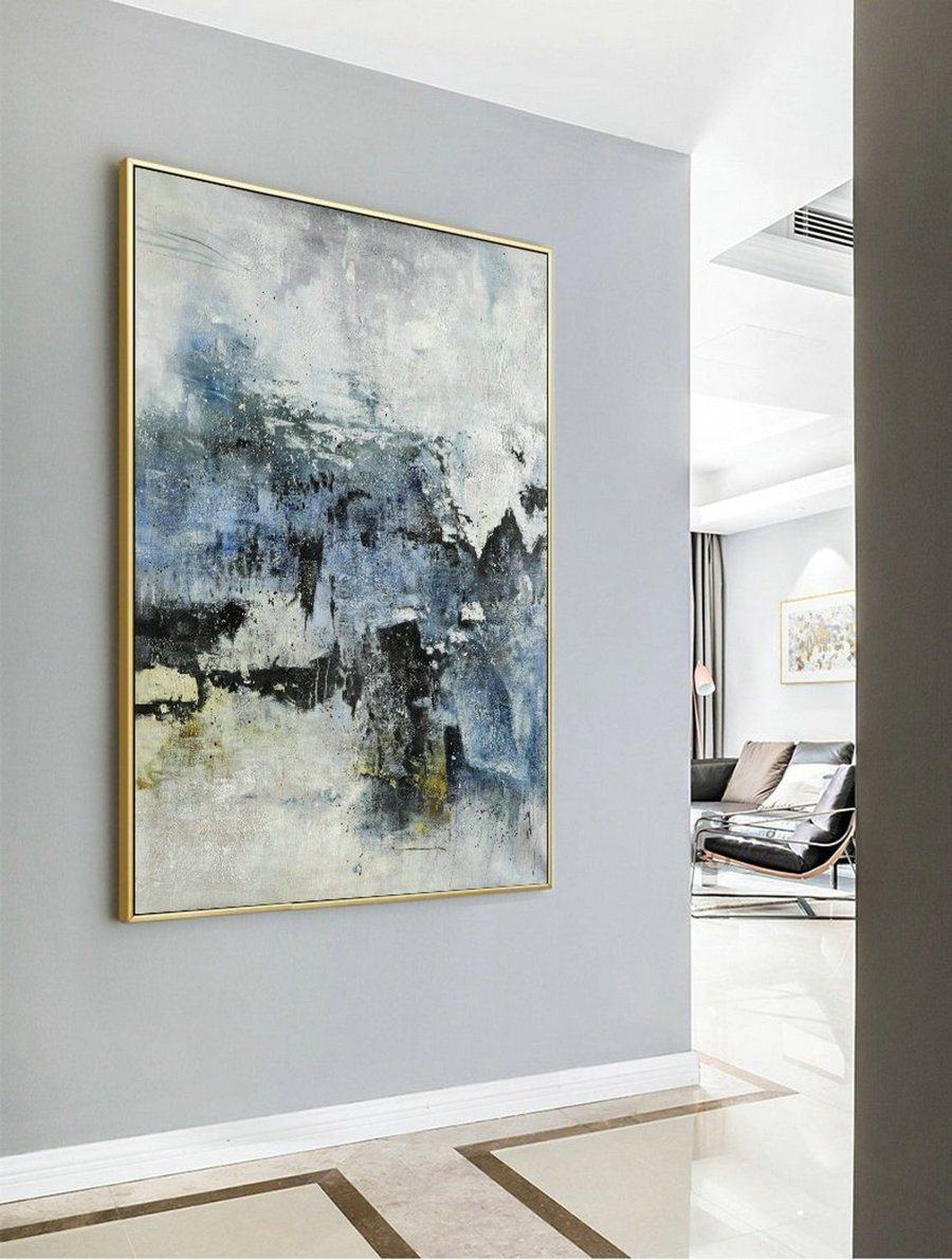 Large Abstract Painting, Original Abstract Painting, Large Abstract Art, Living Room Art,Nature Abstract Painting,Large Wall Canvas Painting,Large Canvas Wall Art
