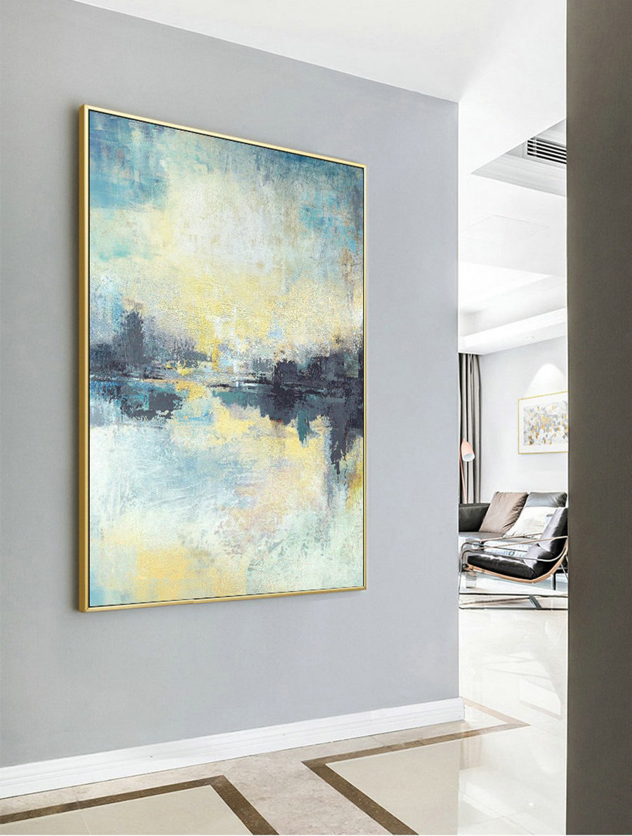 Original Abstract Oil Painting,Large Abstract Art Painting,Nature Abstract Painting,Living Room Art,Large Wall Canvas Painting,Abstract Art,Large Canvas For Sale