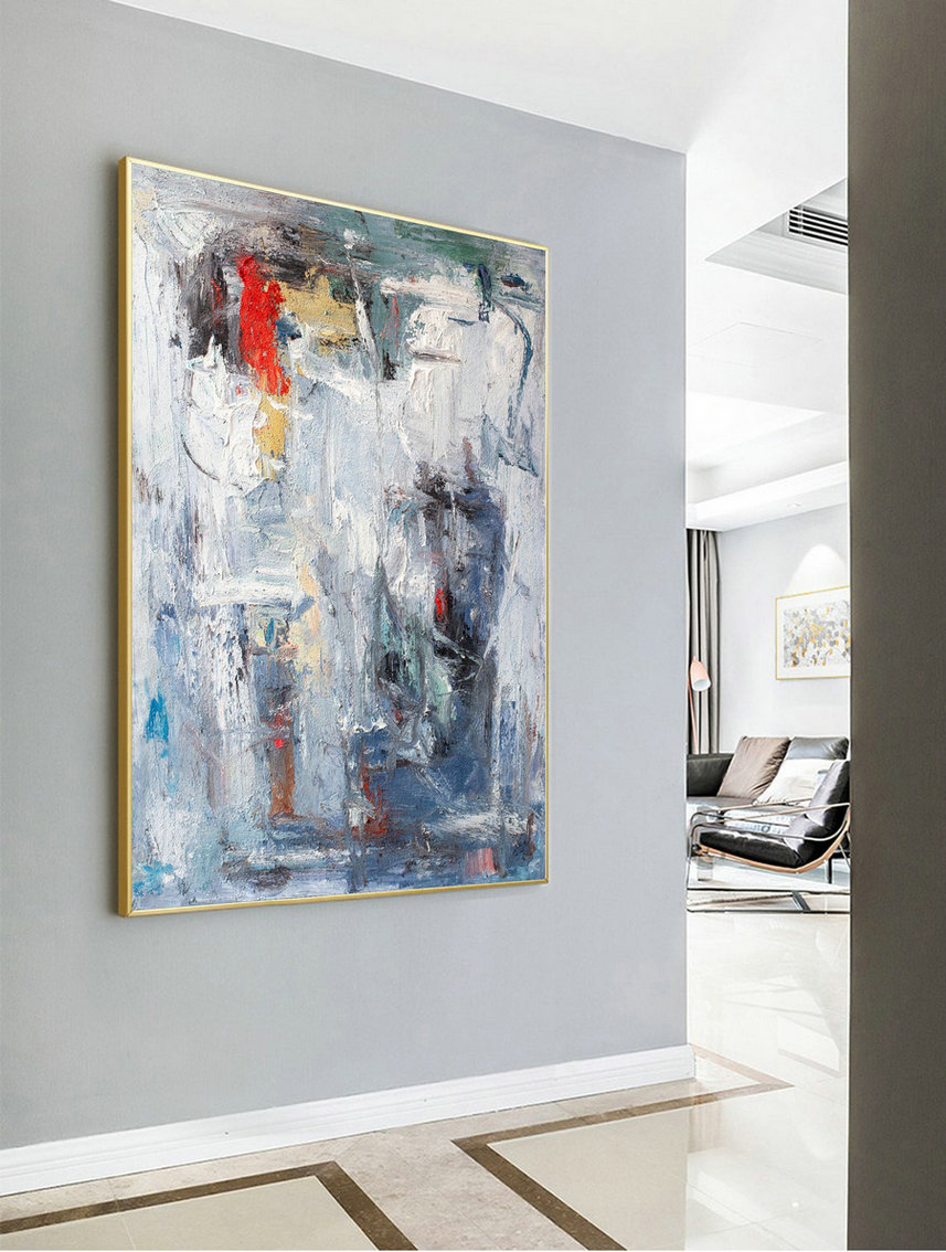 Acrylic Painting,Super Large Texture Abstract Painting,Gray White Abstract Art,Large Abstract Painting,Acrylic Abstract Paintings On Canvas,Your Own Canvas