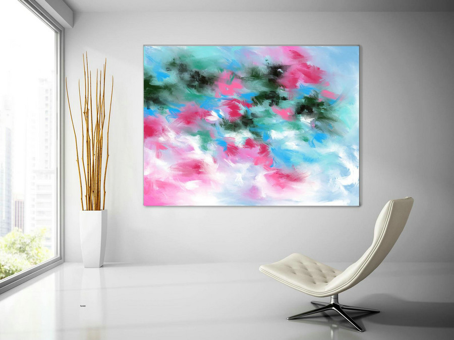 Original Painting,Painting On Canvas Modern Wall Decor Contemporary Art, Abstract Painting Pac485,Big Wall Pictures For Sale