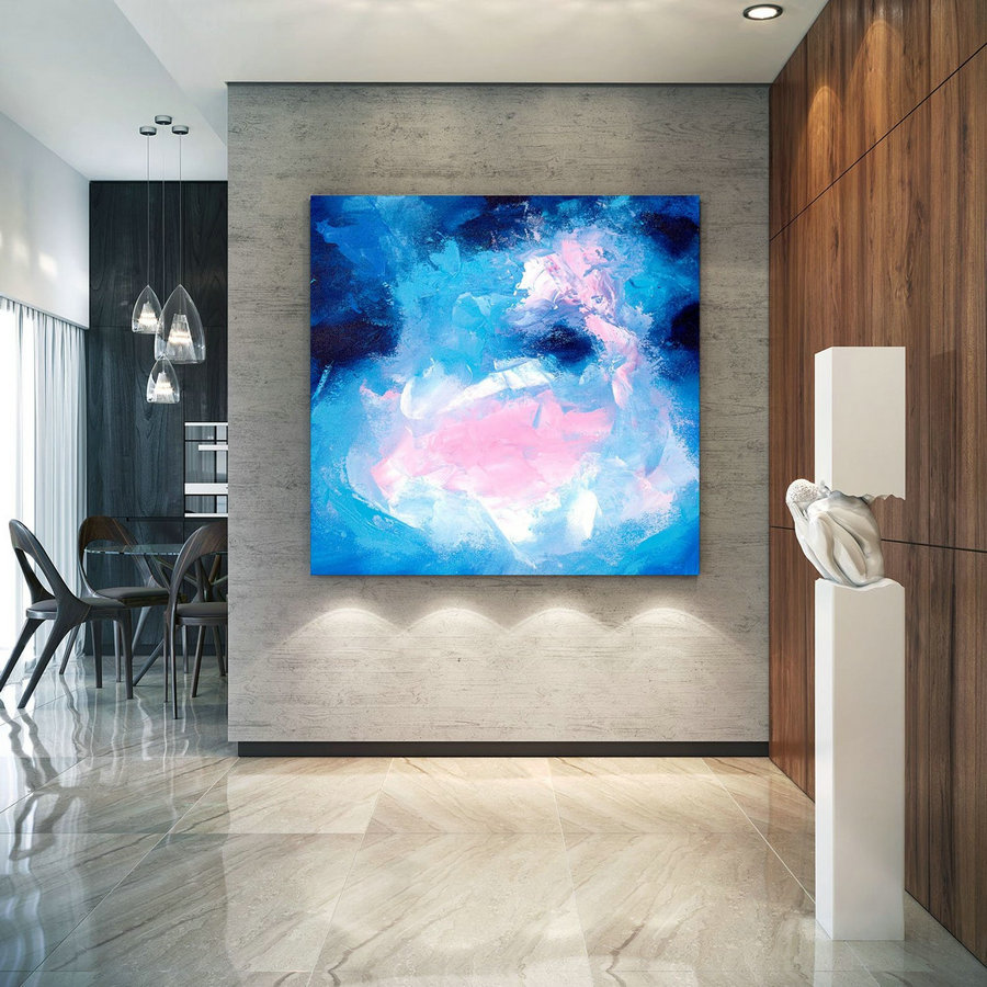 Extra Large Wall Art Original Art Bright Abstract Original Painting On Canvas Extra Large Artwork Contemporary Art Modern Home Decor Lac661,Oversized Canvas Art For Sale