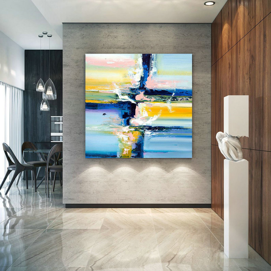 Extra Large Wall Art Original Art Bright Abstract Original Painting On Canvas Extra Large Artwork Contemporary Art Modern Home Decor Lac659,Contemporary Canvas Art For Sale