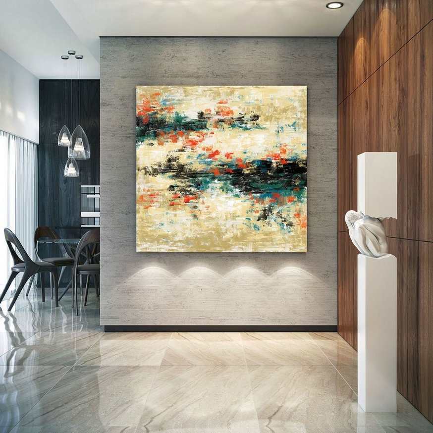 Original Painting,Painting On Canvas Modern Wall Decor Contemporary Art, Abstract Painting Pac484,Wall Art Canvas Painting
