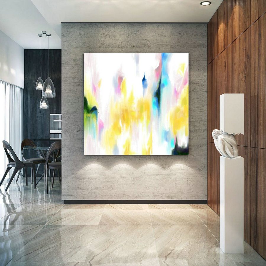 Abstract Canvas Original Paintings Abstract Paintings Wall Art For Luxury Interiors Living Room Decor Huge Size Art, Office Wall Art Pac177,Huge Abstract Canvas