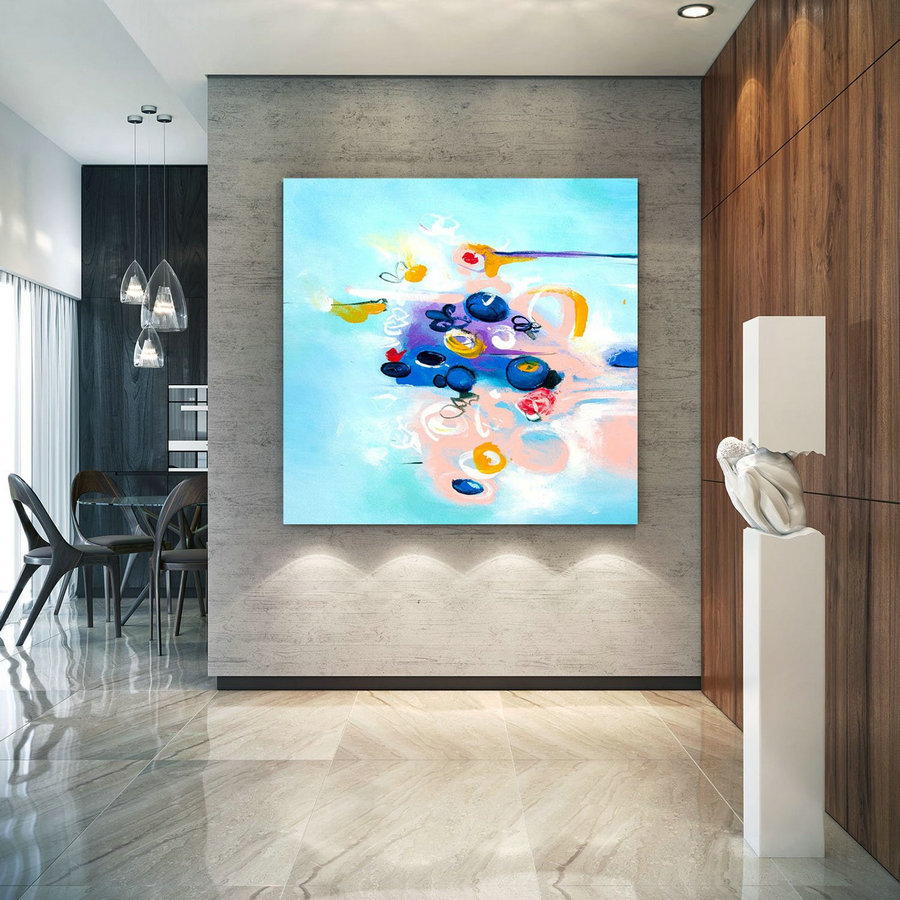 Extra Large Wall Art Original Art Bright Abstract Original Painting On Canvas Extra Large Artwork Contemporary Art Modern Home Decor Lac660,Canvas Art Supplies