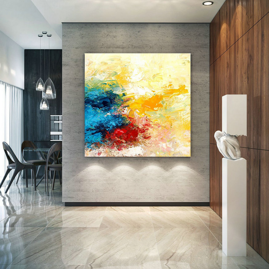 Extra Large Wall Art Original Art Bright Abstract Original Painting On Canvas Extra Large Artwork Contemporary Art Modern Home Decor Lac670,Discount Large Canvas Art