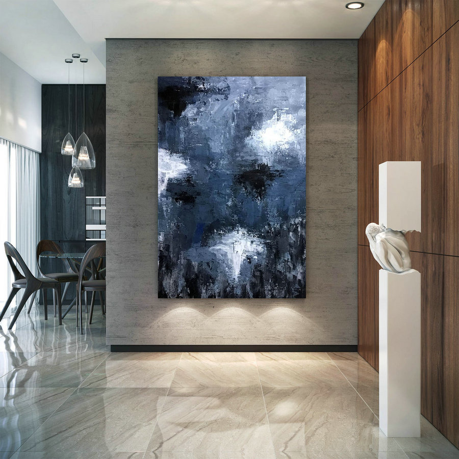 Large Painting On Canvas,Extra Large Painting On Canvas,Art Paintings,Oil Large Painting,Canvas Large,Textured Wall Decor Dic059,Large Inexpensive Art
