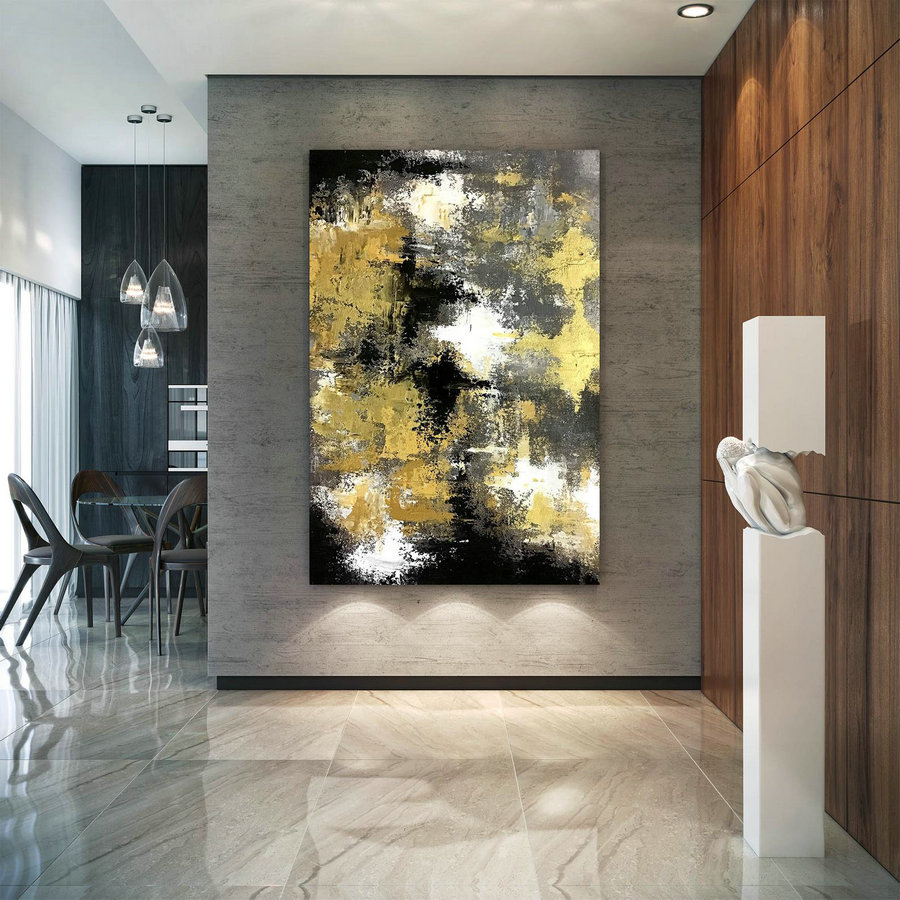Large Abstract Painting,Large Abstract Painting On Canvas,Oil Hand Painting,Abstract Originals,Livingroom Decor Dic041,Big Canvas Canada