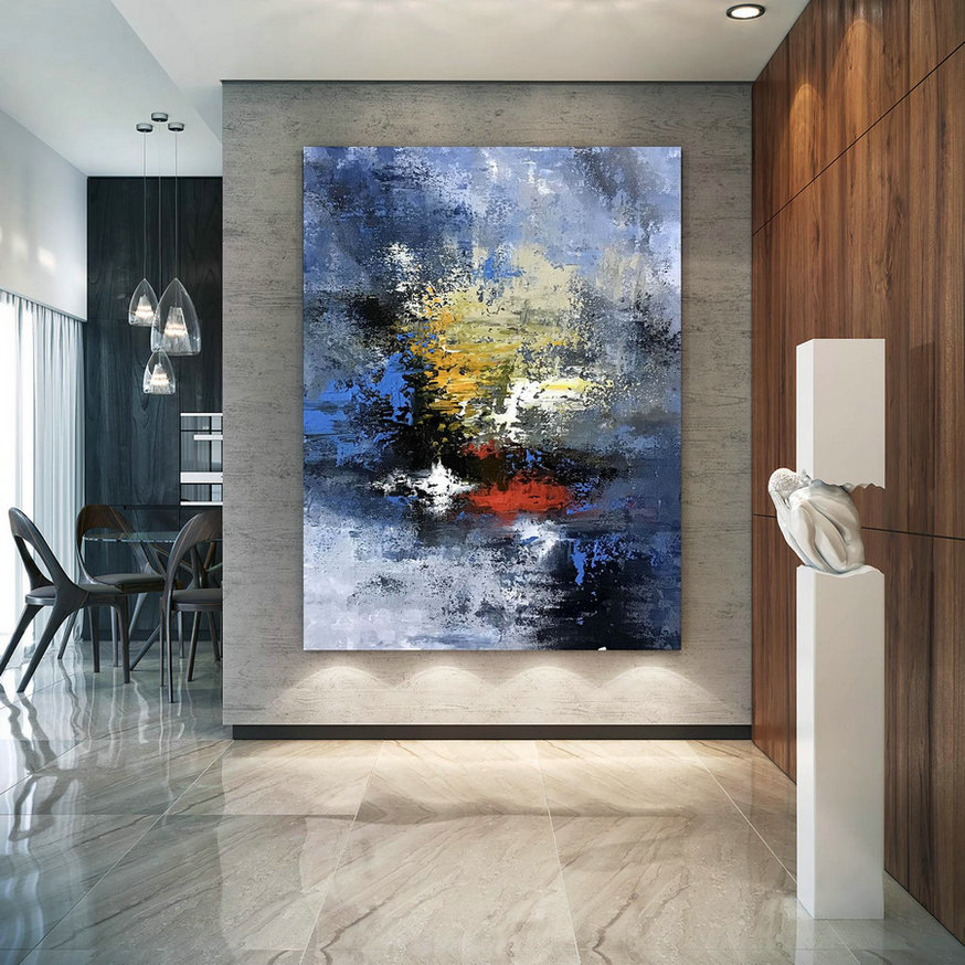 Large Abstract Painting,Modern Abstract Painting,Square Painting,Home Decor Modern,Modern Abstract,Textured Wall Decor Dic040,Large Canvas Art Work