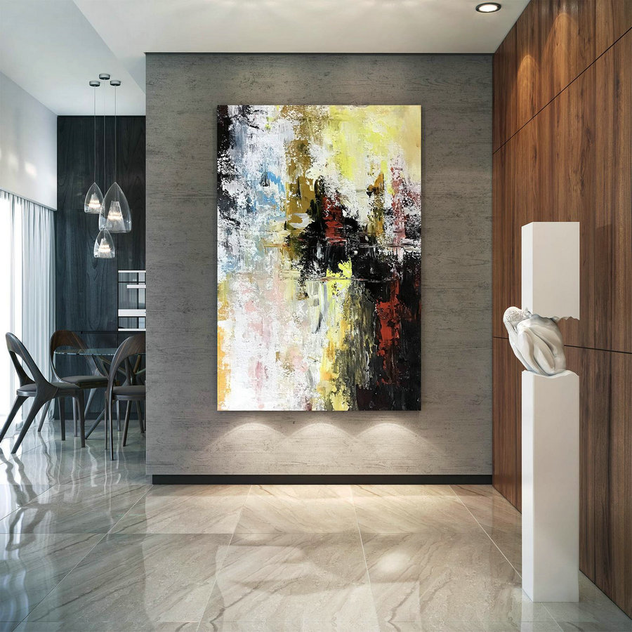 Large Abstract Artwork,Large Abstract Painting,Original Painting,Large Abstract Art,Original Artwork,Texture Wall Art Bnc100,Extra Large Panoramic Canvas