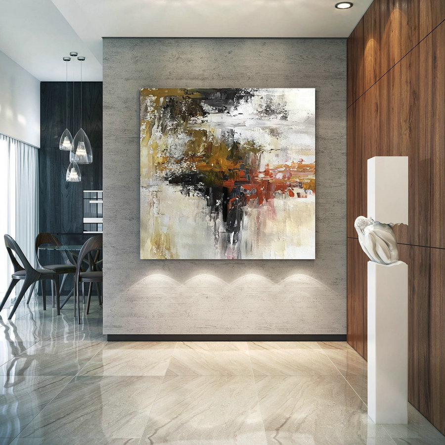Original Abstract Canvas Art,Large Abstract Canvas Art,Large Art On Canvas,Abstract Wall Art,Modern Abstract Dic039,Large Canvasses