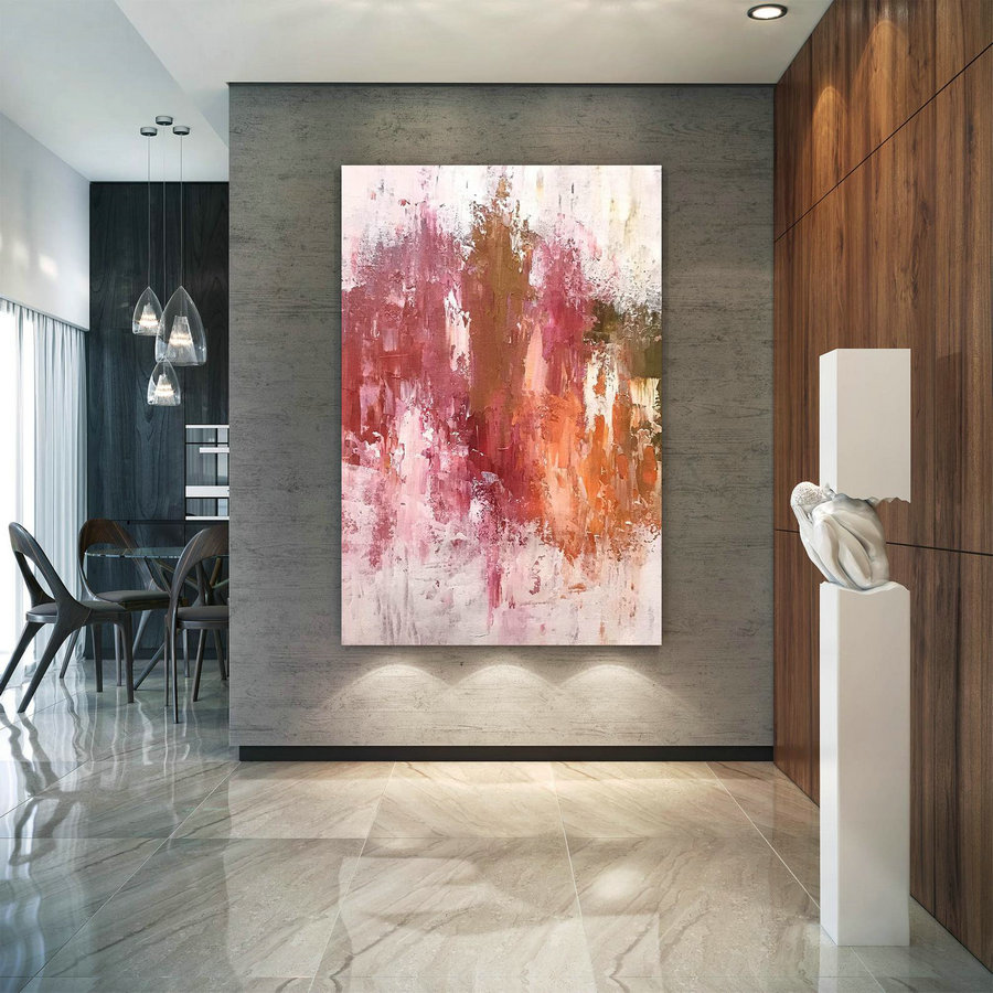 Large Abstract Painting,Oil Hand Painting,Abstract Painting,Extra Large Wall Art,Abstract Texture Art D2C004,Extra Large Wall Art Cheap