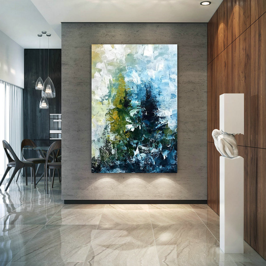 Large Modern Wall Art Painting,Large Abstract Painting,Painting Wall Art,Large Wall Art,Extra Large Wall Art D2C012,Contemporary Canvas Art