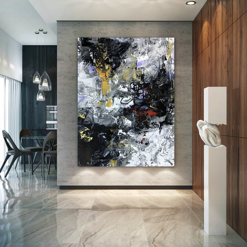 Large Abstract Painting,Modern Abstract Painting,Texture Art Painting,Large Oil Art,Large Abstract Art,Textured Painting Bnc095,Extra Large Wall Art