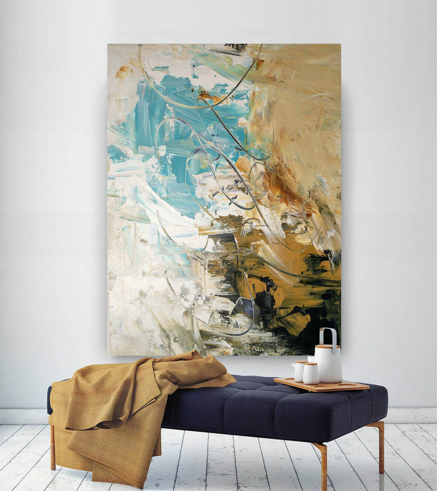 Large Abstract Painting,Modern Abstract Painting,Painting For Home,Huge Canvas Art,Abstract Originals,Textures Painting Bnc058,Canvas Art Designs
