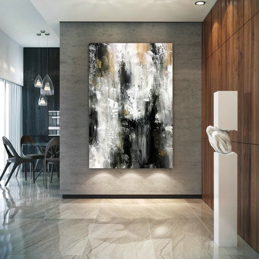Large Abstract Painting,Modern Abstract Painting,Painting Colorful,Large Canvas Art,Abstract Painting,Acrylic Textured B2C011,Canvas Art Near Me