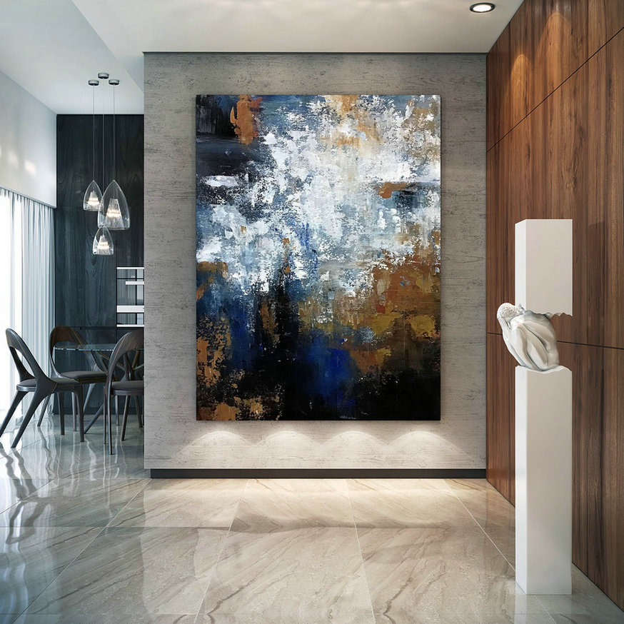 Large Modern Wall Art Painting,Square Painting,Canvas Wall Art,Oil Canvas Art,Textured Art B2C014,Canvas Art Wall Art