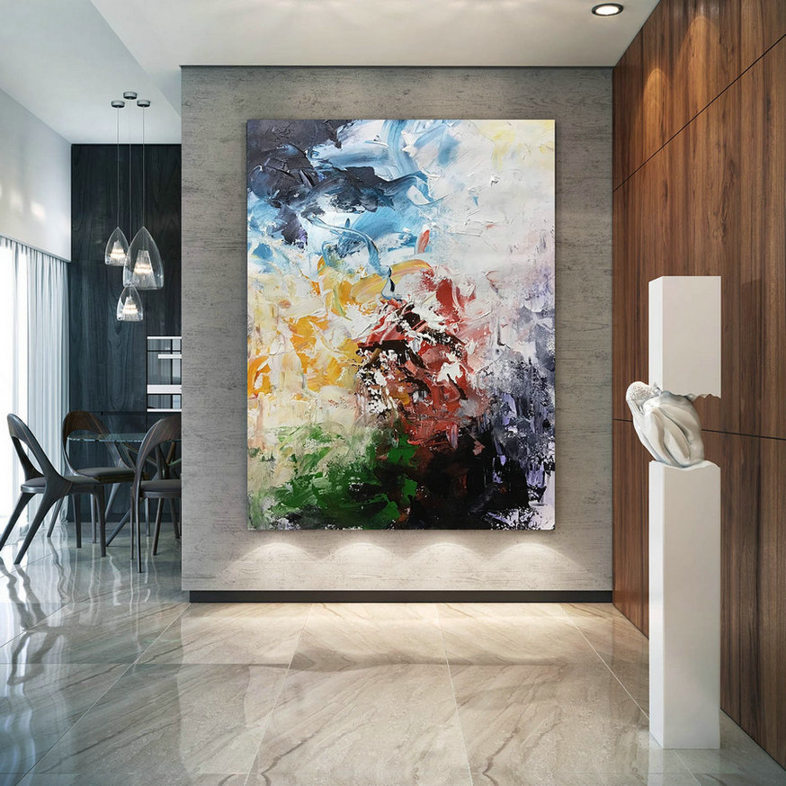 Large Painting On Canvas,Original Painting On Canvas,Acrylics Paintings,Large Oil Paintings,Canvas Custom Art Bnc082,Wall Art Ideas For Large Wall
