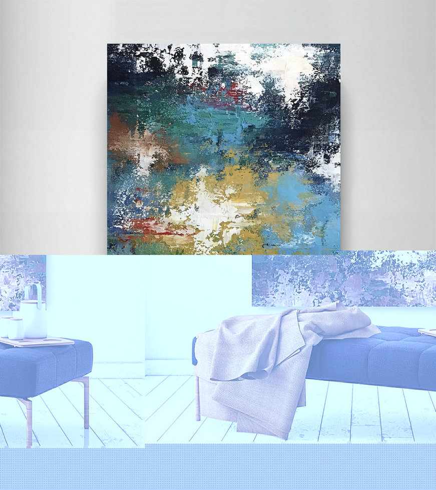 Large Abstract Painting,Modern Abstract Painting,Art Paintings,Large Art On Canvas,Large Abstract Art,Modern Textured Art Dic038,Huge Artwork For Sale