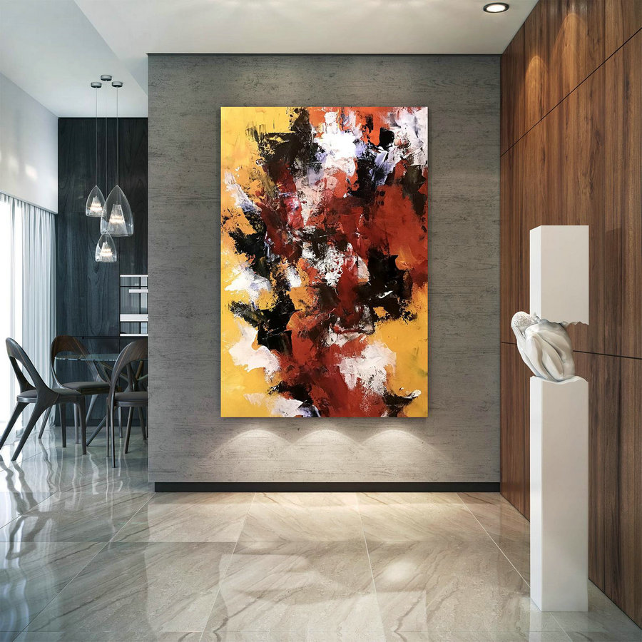 Large Modern Wall Art Painting,Large Abstract Painting On Canvas,Oil Hand Painting,Painting Canvas Art,Large Wall Art Dic045,Digital Photo To Canvas