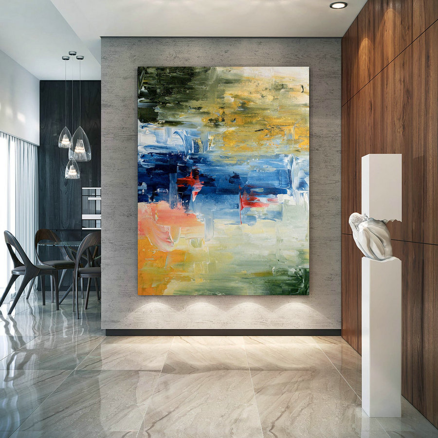 Large Abstract Painting,Modern Abstract Painting,Painting Original,Large Wall Art,Acrylic Abstract,Textured Art Dic008,Oversized Online