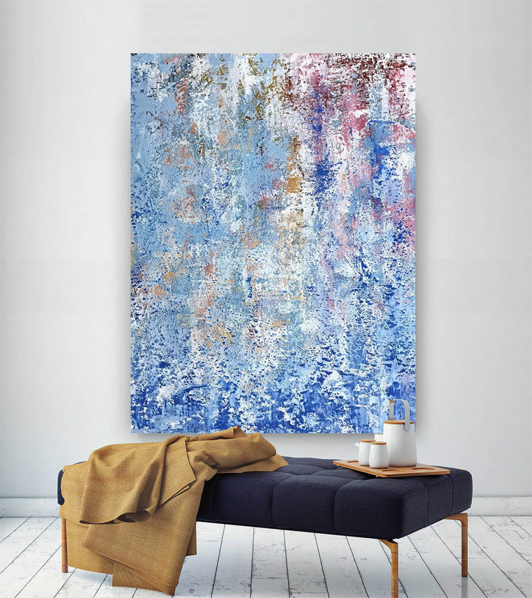 Large Abstract Painting,Modern Abstract Painting,Painting Wall Art,Large Wall Art Decor,Colorful Abstract,Abstract Texture Art Dic034,Cheap Large Wall Hangings