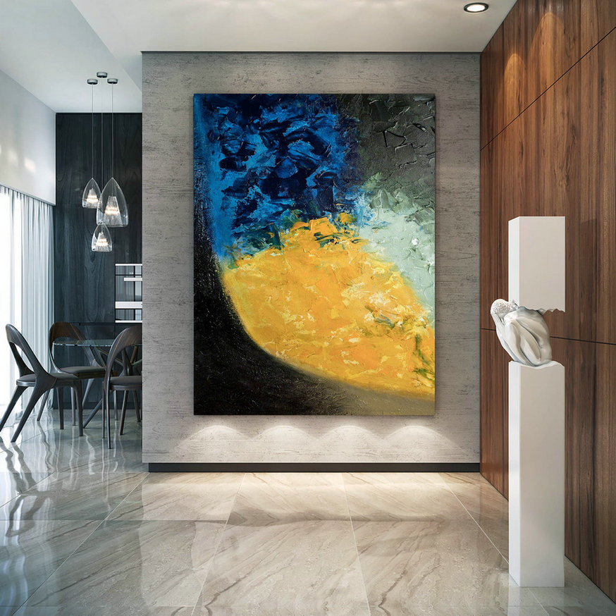 Large Modern Wall Art Painting,Large Abstract Painting,Painting Wall Art,Large Wall Art,Extra Large Wall Art Dic012,Large Contemporary Art