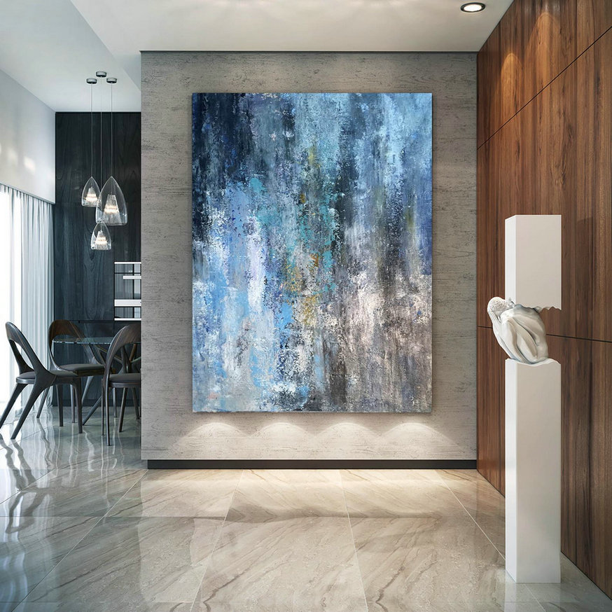 Large Modern Wall Art Painting,Large Abstract Painting On Canvas,Square Painting,Canvas Large,Office Wall Art Bnc110,Large Wall Art Paintings