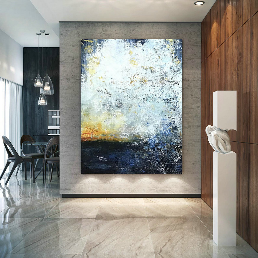 Large Abstract Painting,Modern Abstract Painting,Oil Hand Painting,Oil Knife Painting,Xl Abstract Painting,Textured Art Bnc107,Oversized Original Paintings