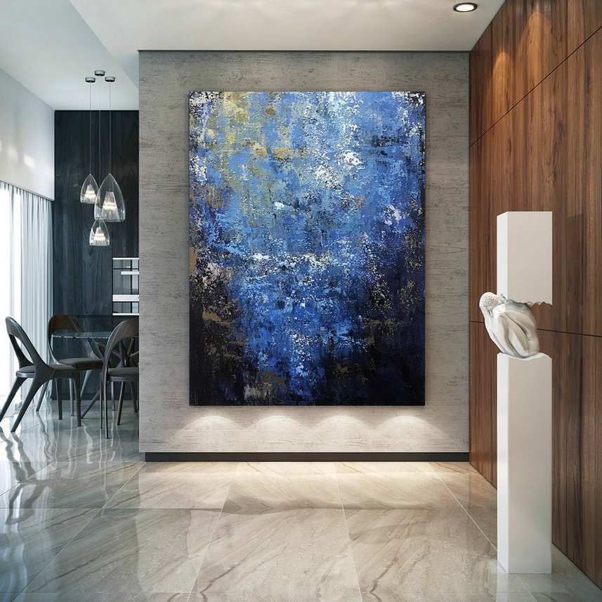Large Abstract Painting,Modern Abstract Painting,Unique Painting Art,Palette Knife Canvas,Acrylic Abstract,Textured Art Bnc086,Where To Buy Large Art