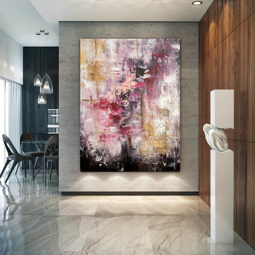 Large Abstract Painting,Modern Abstract Painting,Painting For Home,Oil Paintings,Abstract Painting,Acrylic Textured Bnc056,Cheap Modern Canvas Art