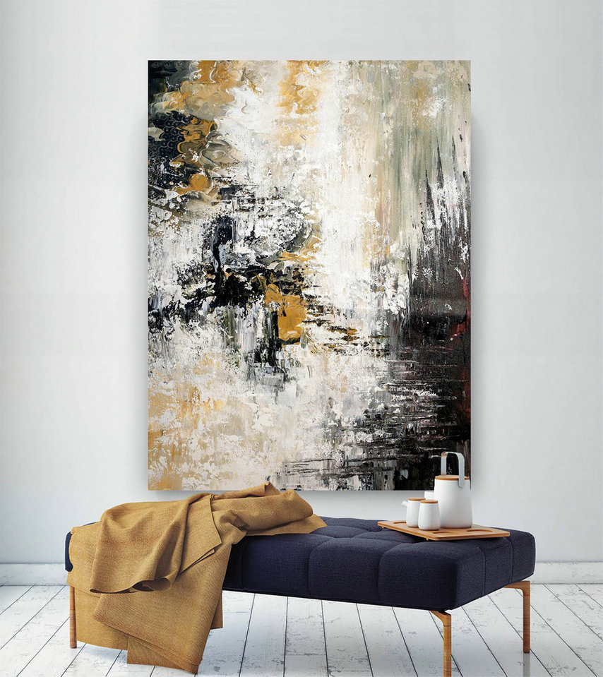 Large Modern Wall Art Painting,Large Abstract Painting On Canvas,Oil Hand Painting,Painting Canvas Art,Best Wall Art Bnc064,Large Paintings And