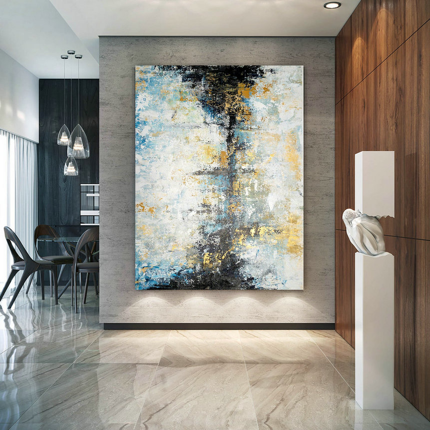 Large Modern Wall Art Painting,Large Abstract Wall Art,Painting Home Decor,Modern Abstract,Home Decor Wall Art Bnc047,Very Largeart