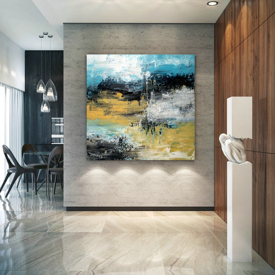 Large Abstract Painting,Modern Abstract Painting,Original Painting,Modern Wall Canvas,Abstract Painting,Textured Wall Decor Bnc018,Beautiful Large Wall Art