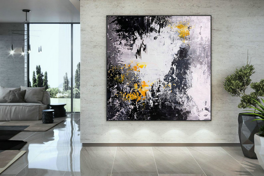 Extra Large Wall Art Original Art Bright Abstract Original Painting On Canvas Extra Large Artwork Contemporary Art Modern Home Decor Dmc192,Wide Canvas Wall Art