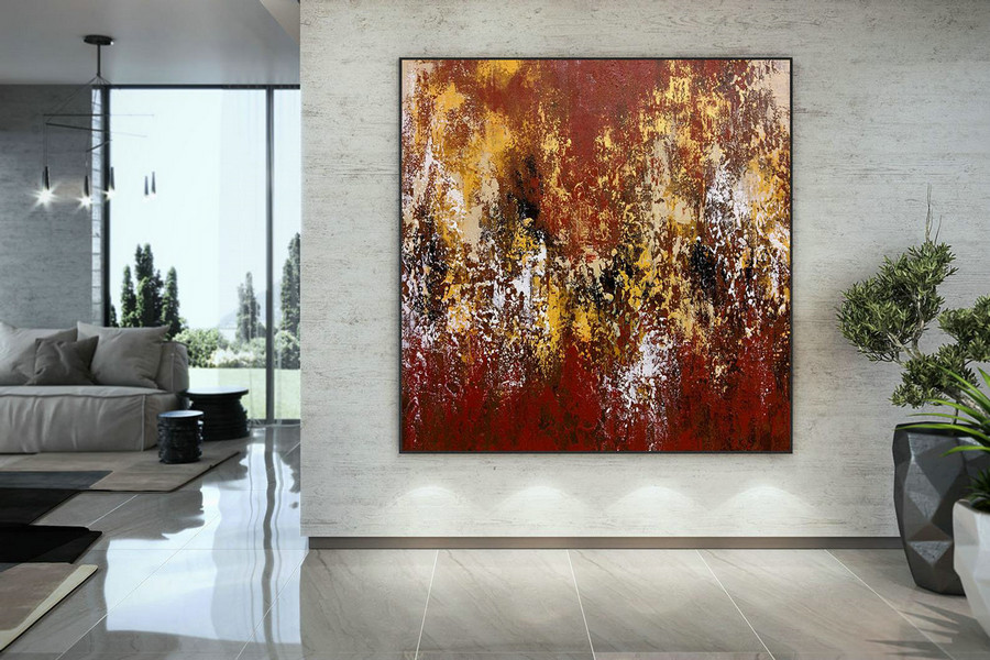 Original Painting,Painting On Canvas Modern Wall Decor Contemporary Art, Abstract Painting Dmc116,Modern Art