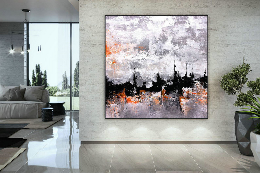 Original Painting,Painting On Canvas Modern Wall Decor Contemporary Art, Abstract Painting Dmc114,Canvases And Wall Art