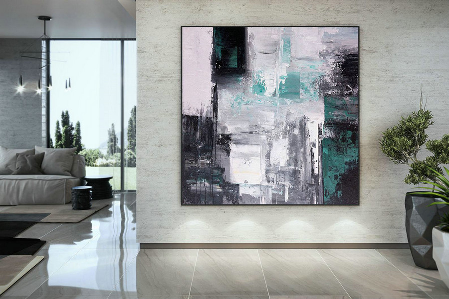 Large Modern Wall Art Painting,Large Abstract Wall Art,Unique Painting Art,Large Abstract Art,Canvas Wall Art Dac046,Large Wall Murals Canvas