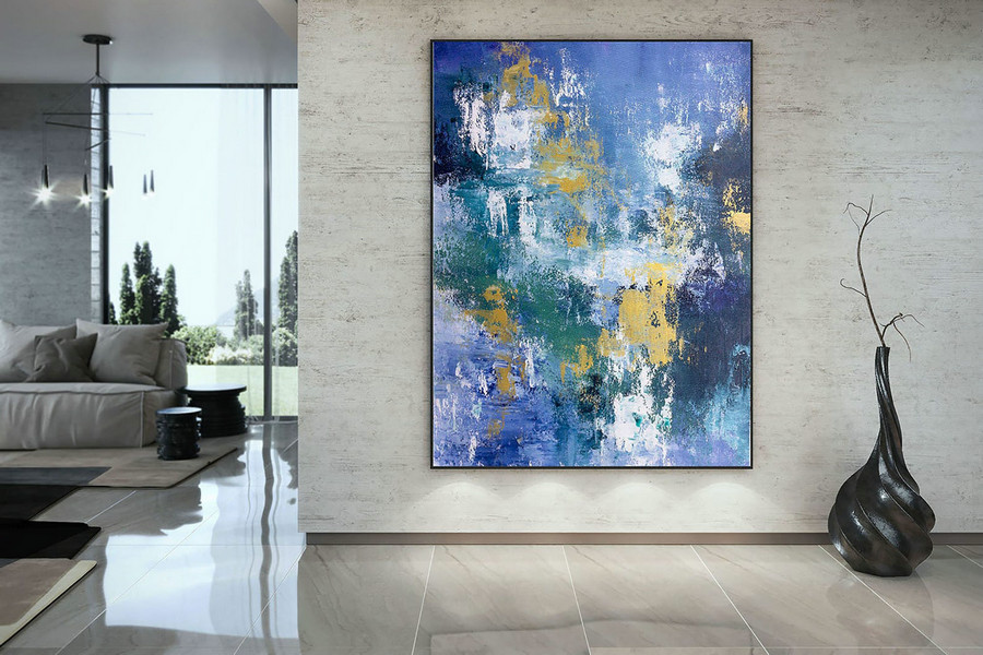 Large Abstract Painting,Modern Abstract Painting,Art Paintings,Large Art On Canvas,Large Abstract Art,Modern Textured Art Dac025,Large Stretched Canvas Art