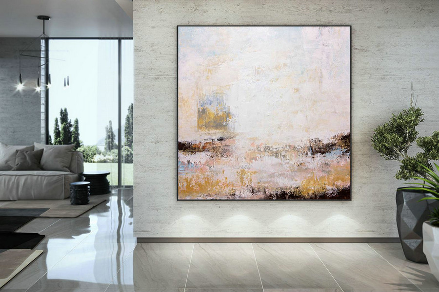 Large Modern Wall Art Painting,Large Abstract Painting On Canvas,Canvas Custom Art,Texture Painting,Living Room Wall Art Dmc222,Huge Canvas Art For Sale