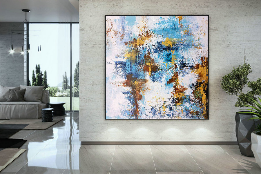 Large Painting On Canvas,Extra Large Painting On Canvas,Art Paintings,Large Interior Decor,Large Canvas Art,Textures Painting Dmc218,Contemporary Canvas Artwork